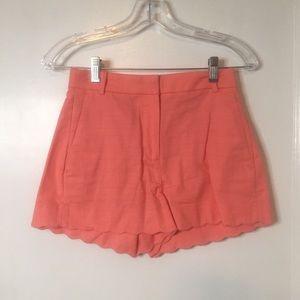 J Crew Coral Shorts